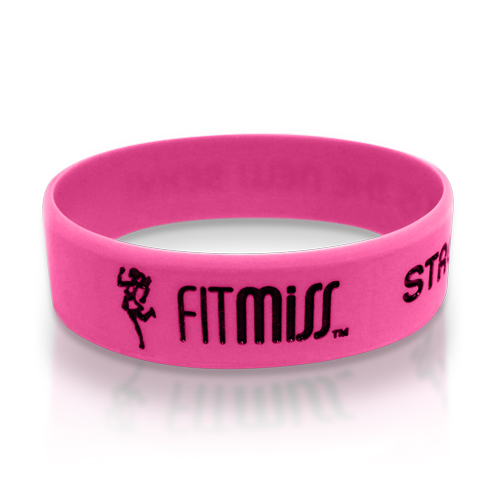 FitMiss Wrist Band Pink