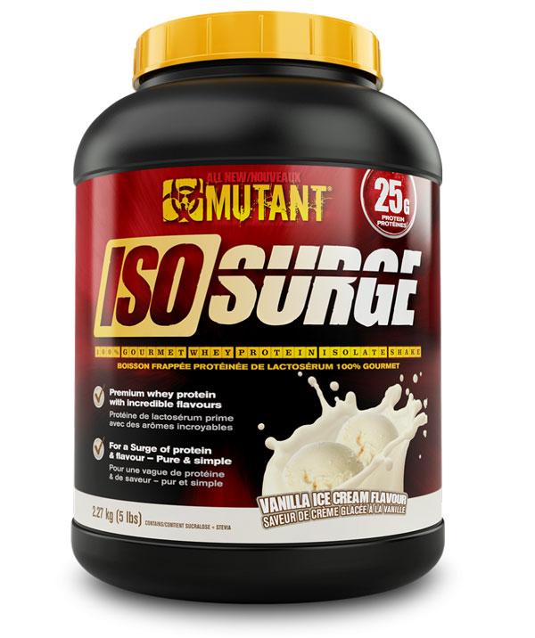 MUTANT ISO SURGE 5LB Vanilla Ice Cream